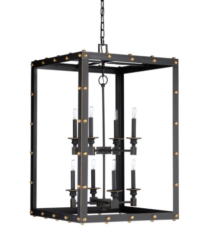 Wildwood Lamps 67266 Wildwood Spartacus Chandelier in Bronze