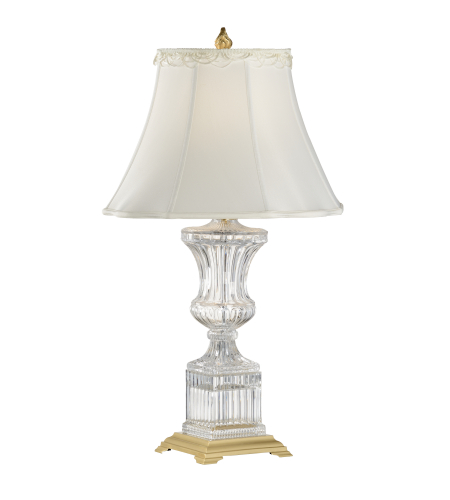 Wildwood Lamps 8099 Crystal Urn Table Lamp in 24 Lead