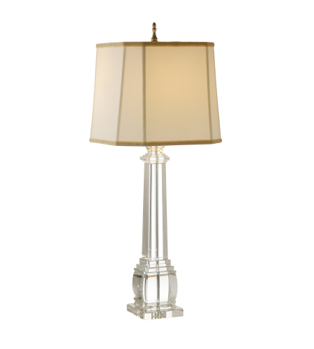 Wildwood Lamps 9275 Wildwood Copely Lamp in Clear