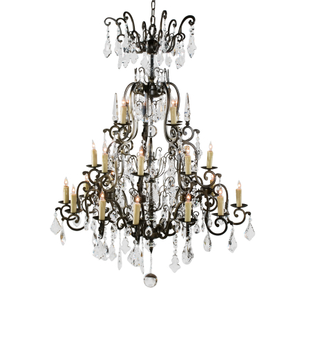 Wildwood Lamps 9382 Wildwood Elegant Chandelier in Bronze